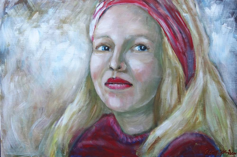 lady-with-the-red-scarf-bettyjonker-art